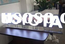 304# stainless steel led letter for decoration
