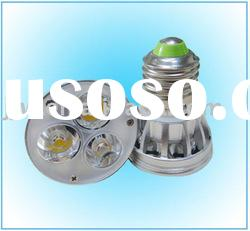 3W E27 white color Super bright led lamp led spotlight