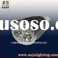 3x2Watt High Power LED GU10 base Spotlight