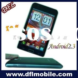 """5.0""""inch capacitive screen i9220 Android 4.0 phone mobile"""