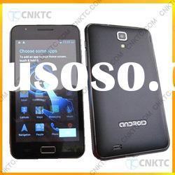 """5 inch cell phone with 5.0"""" capacitive screen gps wifi bluetooth dual sims android 4.0"""