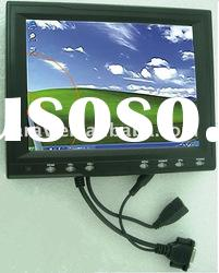 """8"""" TFT-LCD Touch Screen car Monitor Supported Resolution: 1024 x 768 (H x V)"""