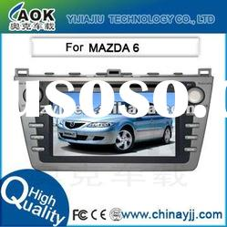 8 inch DVD Player GPS Navigation with Bluetooth /Map/USB /SD for Mazda 6
