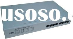 8 port AT(30 watts) POE network switch