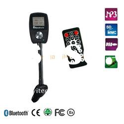 A2DP bluetooth handsfree car kit with car charger for mobile phones
