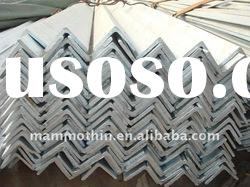 A36 steel hot rolled galvanized steel angle bar