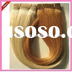 AAA quality unprocessed machine made brazilian kinky curly remy hair weave