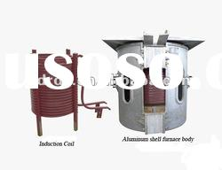 Aluminium scrap melting furnace,IF induction furnace for smelting metal