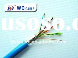 CAT5/CAT5E/CAT6 FTP/SFTP CABLE shielded twisted pair cable