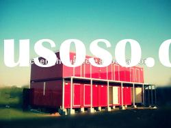 CE / ISO Portable Flooring Prefab Mobile Container House