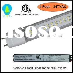 CSA Certified 347VAC t8 led light tube for Canada Market Only