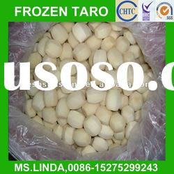 Chinese Grade A IQF taro(round,hexahedral,natural shape)