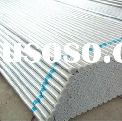 Cold rolled galvanized steel tubes