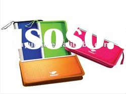 Colorful Rectangle Shaped CD Holder Case Box new 2012 promotional gift