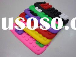Cute Creative Building Block silicone soft protective case for Samsung Galaxy S3 i9300