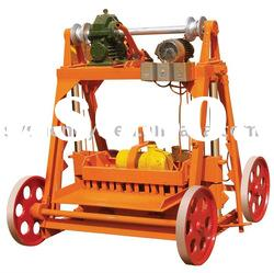 Discount! Small Egg laying manual hollow block Machine with diesel engine power (QM4-45)