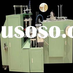 Disposable boiling water paper cup forming machine