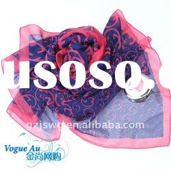 Fashion Automn&Winter Style Hot Selling Printed Long Silk Scarf