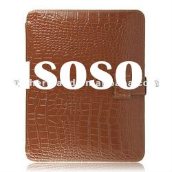 For iPad Real Genuine Leather Case Luxury Crocodile Skin with Many Colors