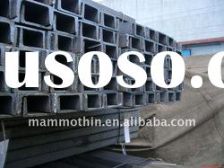 GB and JIS standard hot rolled steel alloy channels to middle east market