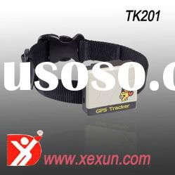 GPS locator TK201 with dog collar good for pet tracking