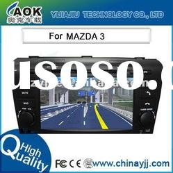 HD 7 Inch Car Stereo System 2 Din with DVB-T and GPS for Mazda 3