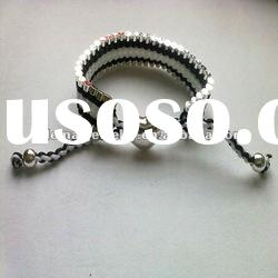 Handmade thread heart bracelets FY005