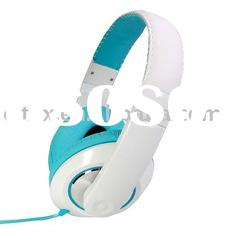High Quality Headphone for ipad 2, laptops, comfortable wearing, with 3.5mm stereo plug.