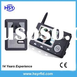 Hot 3.5 inch wireless video door phone