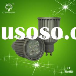 Hot-GU10 Epistar 4*1W LED spotlight &bulb light .CE FCC RoHS approved