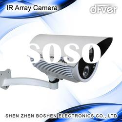 Led Array LED Waterproof IR CCTV Camera cctv dome housing