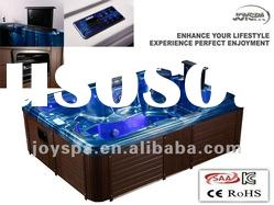 Modern design portable acrylic whirlpool hydro spa with 66 jests JY8002