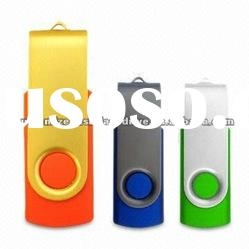 Newest OEM Swivel USB Flash Drive With Logo Print from Myway company