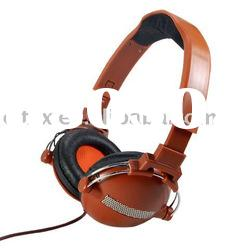 OEM Stero headphone with double metal-supported ear cup,3.5 mm Stereo Plug and 40 mm Driver Unit