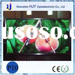 P10 smd RGB indoor advertising led full color display