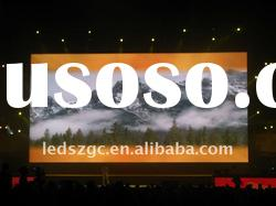 P6 true color SMD 3in1 stage backdrop led display