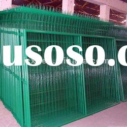 PVC welded wire mesh fence panels