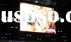 Ph6mm SMD indoor full-color LED display playing video