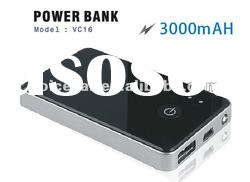 Portable charger power bank for mobile phone - 3000mAH