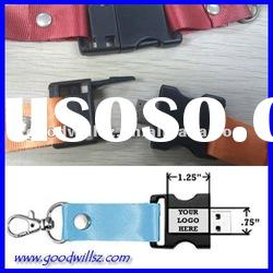 Promotion gift sling USB Flash Drive 1gb with logo