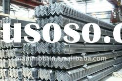 Q345b material hot rolled equal and unequal steel angles