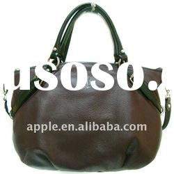 Real leather lady handbags fashion