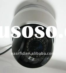 Remote Pan/Tilt IR high speed security network dome IP camera