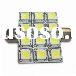 S8.5-12SMD-5050-3chips CAR LED ROOF LAMP and reading lamp