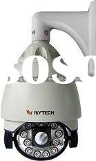 SONY CCD PTZ Weatherproof High Speed Night Vision Dome Security Camera