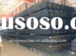SS400 material hot rolled alloy steel H-beams