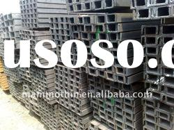 SS400 material hot rolled c channel steel price