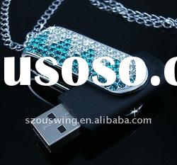 Shenzhen factory supply top-selling crystal usb flash drives