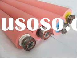 Silicone printing machine rubber roller (many size)