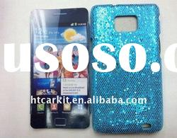 Sky Blue Bling Diamond Cover Case For Samsung i9100